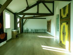 La salle pour les ateliers