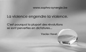 Violence engendre violence